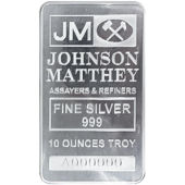 Johnson Matthey Bars
