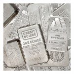 1 oz Silver Bar (Varied, Any Mint)