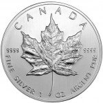 2011 Canadian Silver Maple Leaf (BU)
