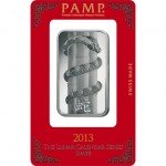 1 oz PAMP Suisse Snake Silver Bar (New w/ Assay)