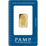 10 Gram PAMP Suisse Gold Bar (New w/ Assay)