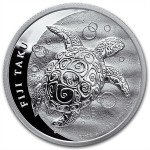 New Zealand Silver $2 Fiji Taku